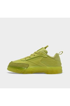 Reebok Casual Shoes - Girls' Toddler Classics Club C Cardi Casual Shoes in /High Vis Size 4.0 Leather