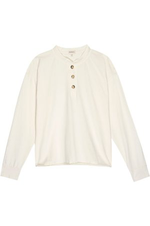 Donni. THE HENLEY LONG SLEEVE