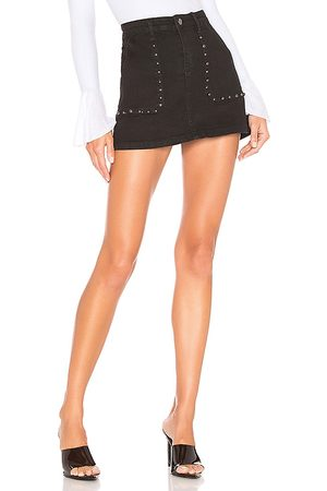 superdown Mona Studded Mini Skirt.
