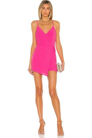 superdown Karen Wrap Romper in .