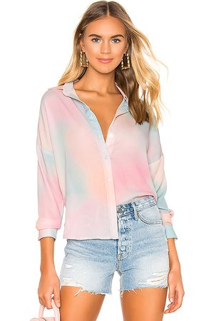 superdown X REVOLVE Miranda Button Up Shirt in Pink.