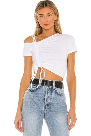 superdown Kylie Ruched Front Top in .