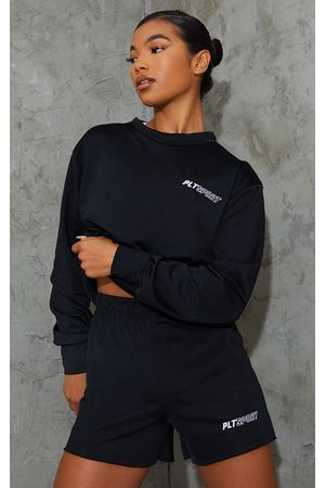 PRETTYLITTLETHING Embroidered Sport Sweat