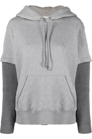 MM6 MAISON MARGIELA Layered hoodie - Grey