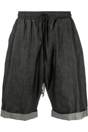 Alchemy Men Shorts - Drawstring-waist denim shorts