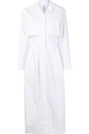 Rosie Assoulin Women Midi Dresses - Long-sleeve cotton midi dress