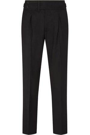Dolce & Gabbana Men Formal Pants - Pleat detail tailored trousers
