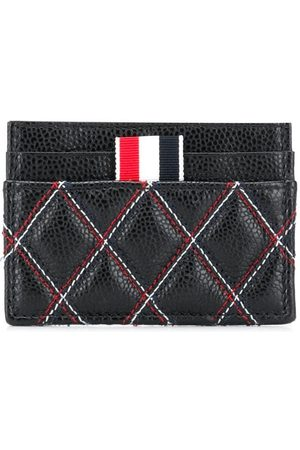 Thom Browne Quilted-effect cardholder
