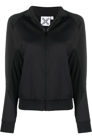 Kenzo Women Jackets - Panelled logo track jacket