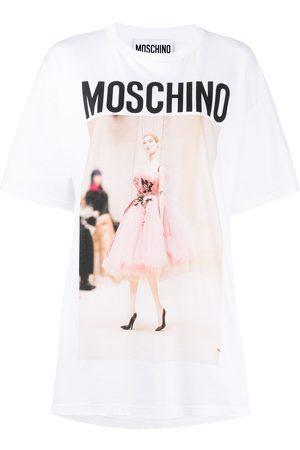 Moschino Photo print logo T-shirt