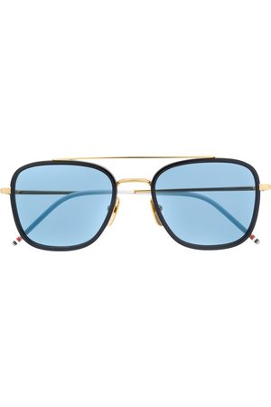 Thom Browne Aviator frame tinted sunglasses