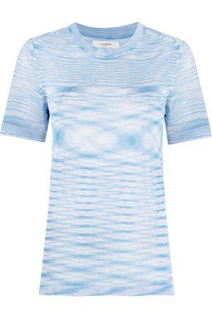 Isabel Marant Women T-shirts - Semi-sheer crew-neck T-shirt