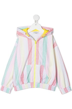 The Marc Jacobs Girls Hoodies - Logo print stripe hoodie