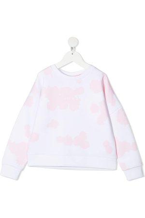 HUGO BOSS Abstract logo print sweatshirt