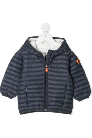 save the duck Zip-up hooded padded jacket