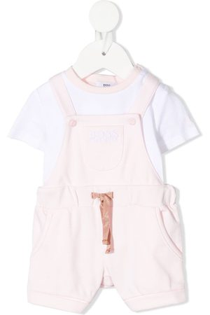 HUGO BOSS T-shirt and overalls set