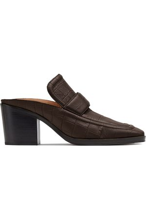 Bottega Veneta Square-toe loafer mules