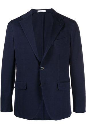 Boglioli Men Blazers - Single-breasted cotton blazer