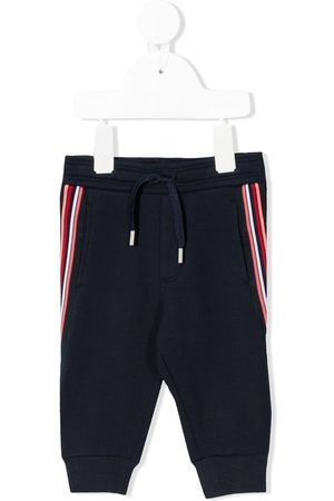 HUGO BOSS Side stripe jogging trousers