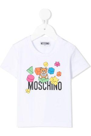 Moschino Teddy bear-print short-sleeved T-shirt