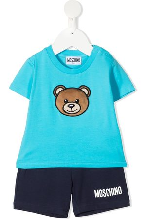 Moschino Sets - Bear-motif tracksuit set