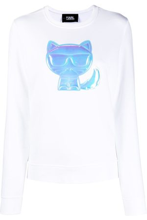 Karl Lagerfeld Women Sweatshirts - Ikonik Ballon Choupette sweatshirt