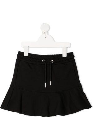 Diesel Girls Mini Skirts - Drawstring cotton miniskirt