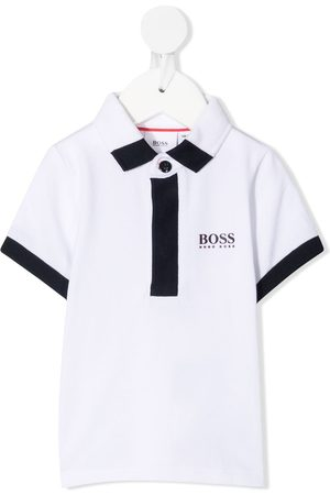 HUGO BOSS Polo Shirts - Logo-printed polo shirt