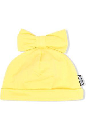 Moschino Boys Bow Ties - Bow-detailed beanie hat