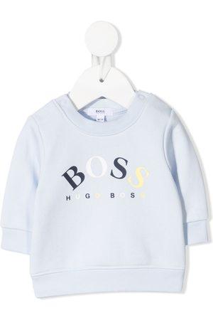 HUGO BOSS Hoodies - Logo-printed sweatshirt
