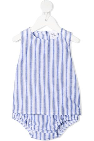 DOUUOD KIDS Bodysuits & All-In-Ones - Stripe-print babygrow set