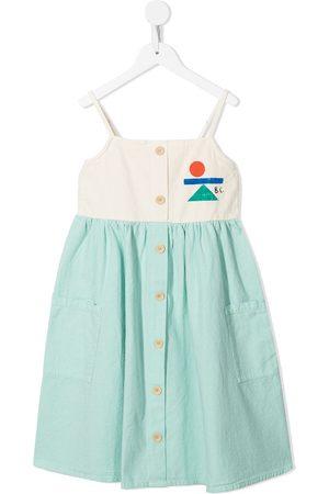 Bobo Choses Balance geometric-print dress