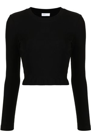 ROSETTA GETTY Women Long Sleeve - Long-sleeved cotton T-shirt