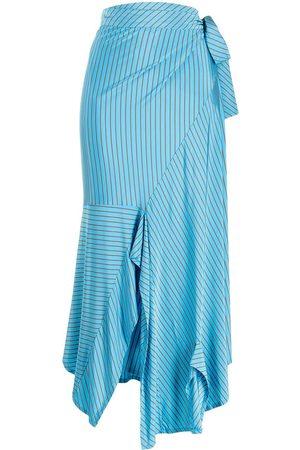 MM6 MAISON MARGIELA Women Midi Skirts - Striped mid-length skirt