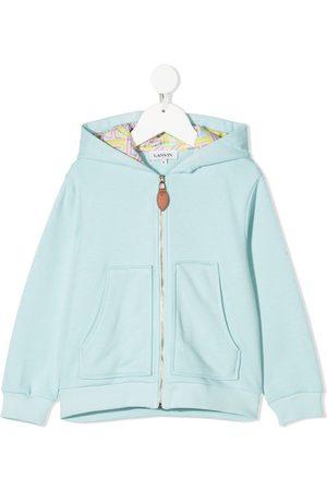 Lanvin Zip-up cotton hoodie