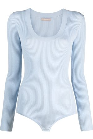 12 STOREEZ Women Bodies - Ribbed long-sleeve body
