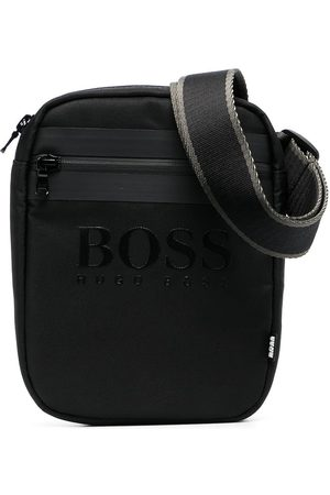 HUGO BOSS Boys Bags - Embossed logo crossbody bag