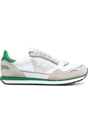 Emporio Armani Men Sneakers - Low-top side-logo trainers