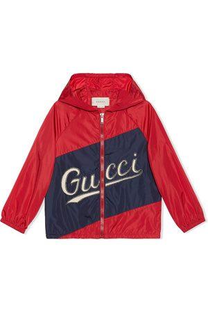 Gucci Stitched logo jacket