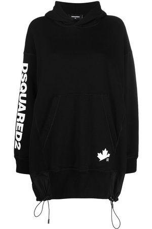 Dsquared2 Long cotton hoodie