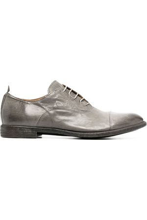 MOMA Leather Oxford shoes - Grey
