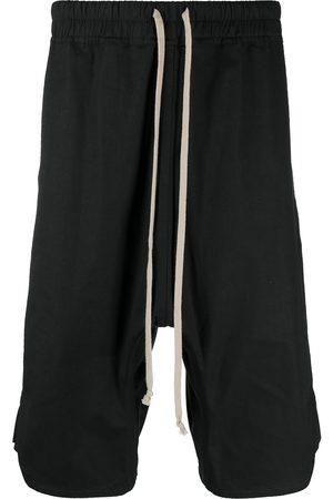 Rick Owens Men Shorts - Oversized drop-crotch shorts