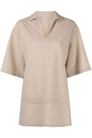 12 STOREEZ Women Short sleeves - Oversized short-sleeve shirt