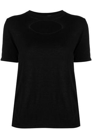Marni Women T-shirts - Cut-out knitted T-shirt