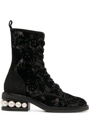 Nicholas Kirkwood Women Lace-up Boots - CASATI 35mm lace-up boots