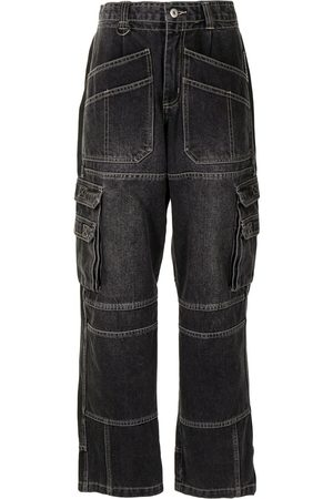 Ground Zero High-waisted straight jeans