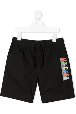 Moschino Boys Shorts - Logo track shorts