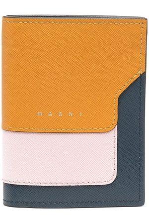 Marni Colour-block logo wallet