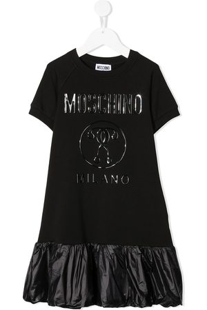 Moschino Logo short-sleeve dress