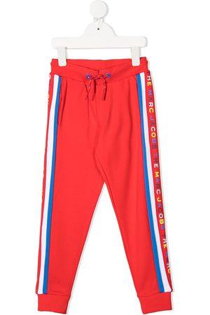 The Marc Jacobs Side stripe drawstring track pants